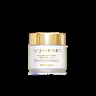 Aquasphera – ночной интенсивно увлажняющий крем тройного действия